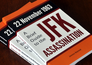 22 November 1963: A Brief Guide to the JFK Assassination: three paperbacks on a table